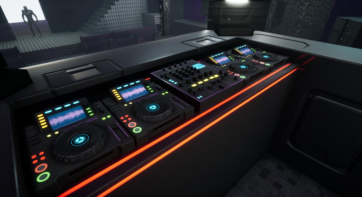Nightclub - Unreal Engine 4 by eddieswan