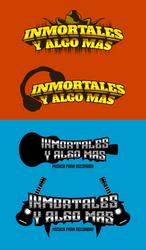 Inmortales Logo Propuesta by eddieswan