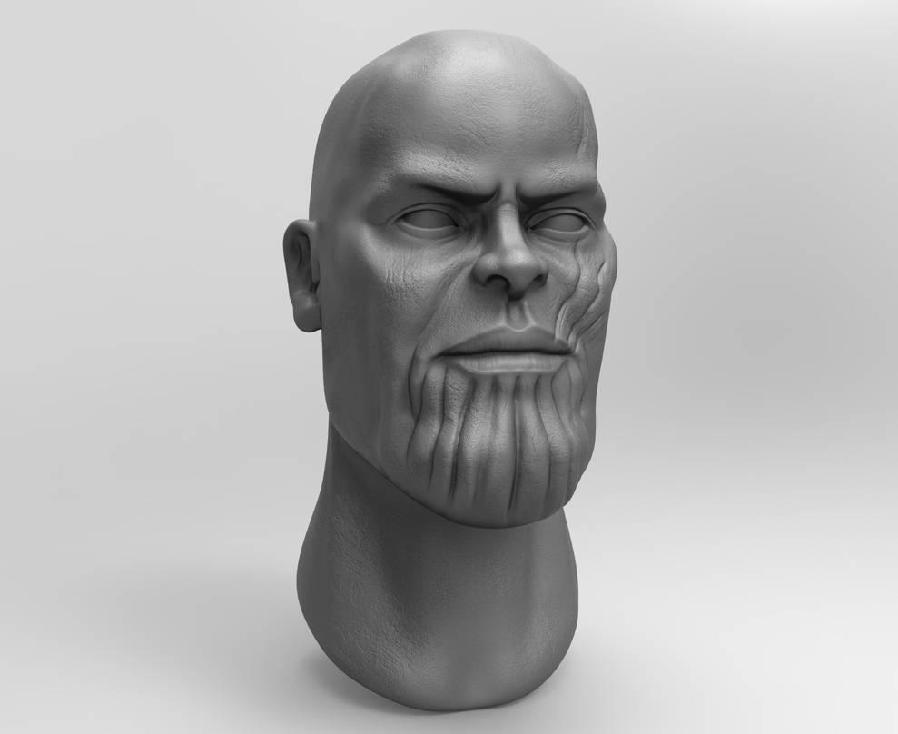 Zbrush - Thanos Fan Art (3) by eddieswan
