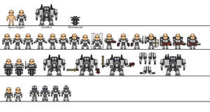 BAF: Space Knights Templates by Sleeping-Demons