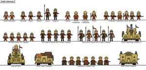 Turbik Janissaries by Sleeping-Demons