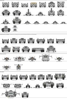 BAF Kingdom Minihero Vehicle Templates