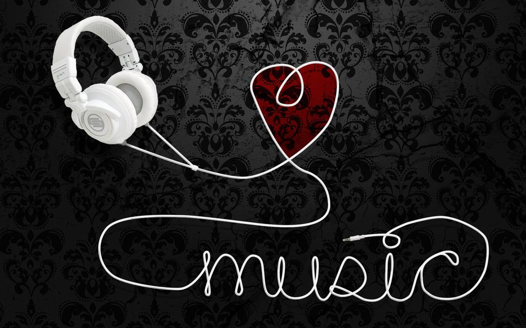 Heart Music Wallpaper By Sam Dragon