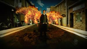 Angel of Fire by Sam-Dragon