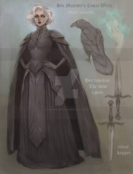 His Majesty's Court Witch  Adopt Auction  CLOSE