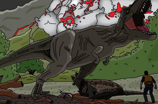 Jurassic World's T-Rex