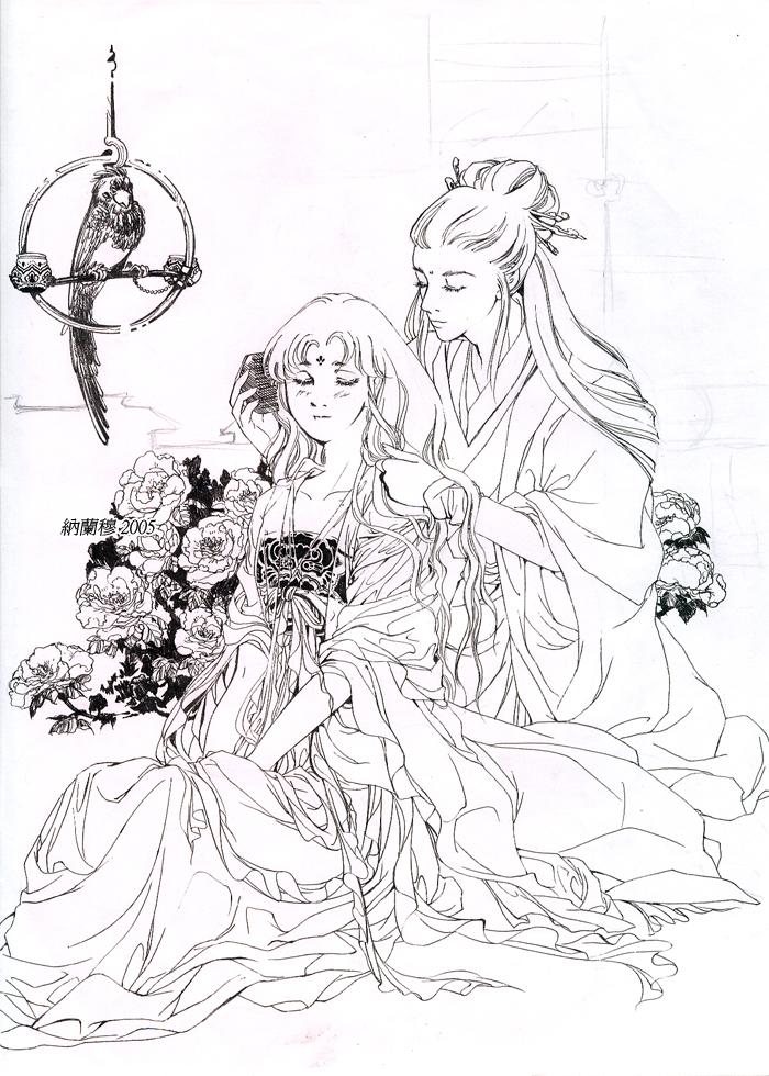 Saint Seiya-Shaka Mu the Peony by Rosalind-WT
