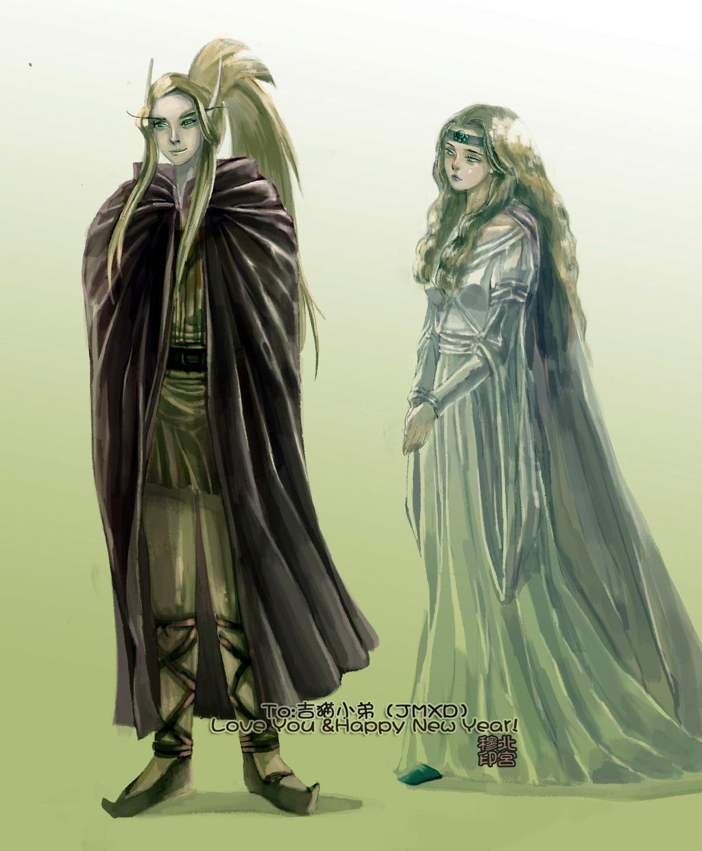 My Blood Elf Friend by Rosalind-WT