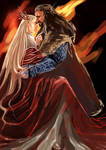 Thorin Oakenshield x Thranduil_I see Fire