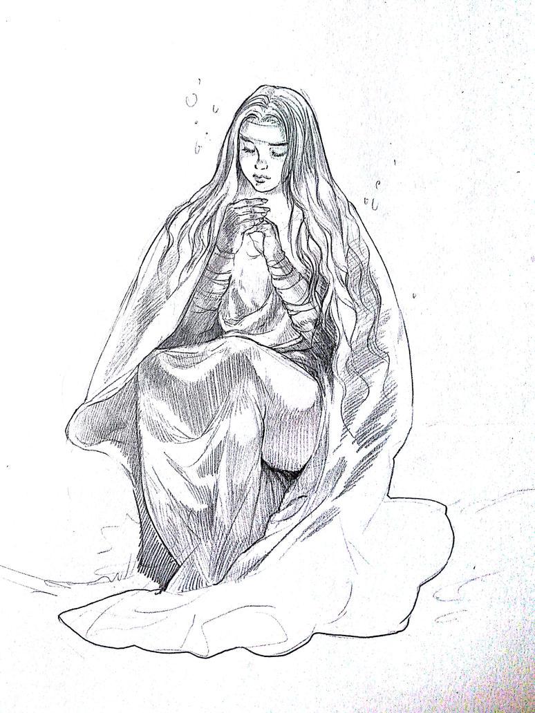 Prophetesse Melya by Rosalind-WT
