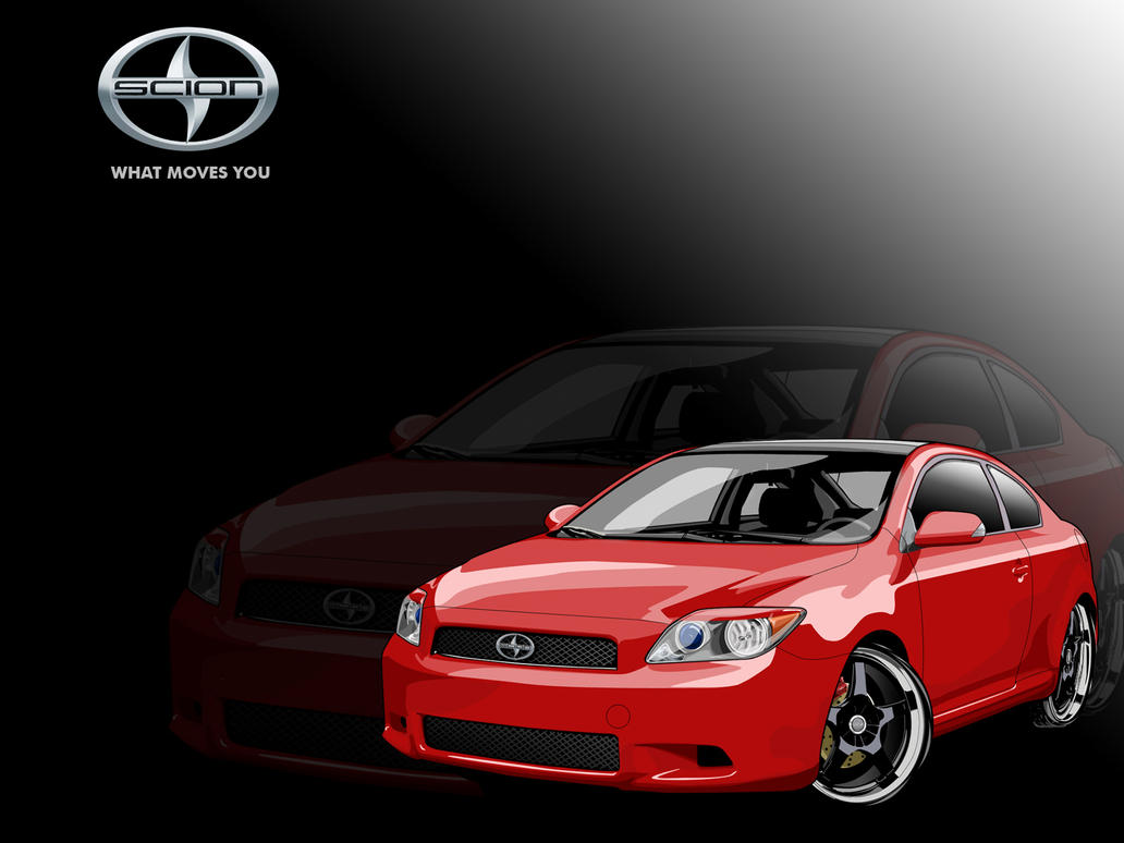 Scion Emblem Wallpaper Scion tc Vector Wallpaper by