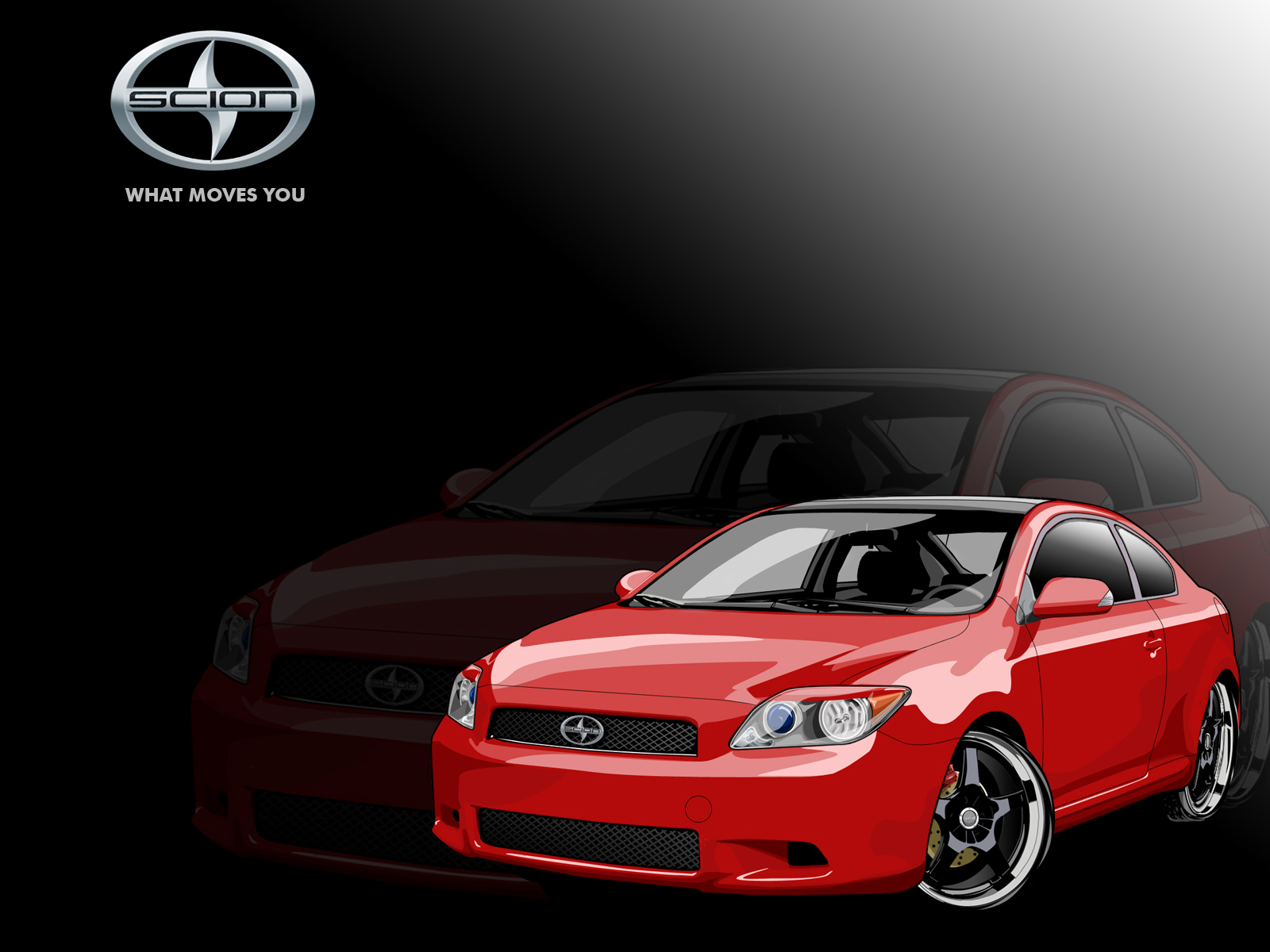 Scion Tc Vector Wallpaper By Hoshiboshi On Deviantart