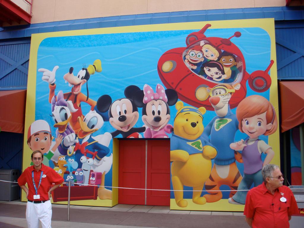'On Playhouse Disney' by henryt93 on DeviantArt