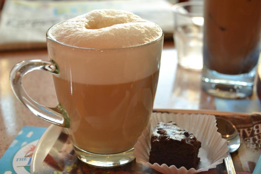 Coffee and Brownies by ChuaCarbonara