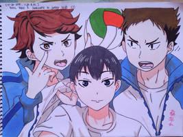Kitagawa Daiichi Volleyball Team by ChuaCarbonara