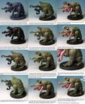 QU-SH-UG Pinting Tutorial by Pure Evil Miniatures