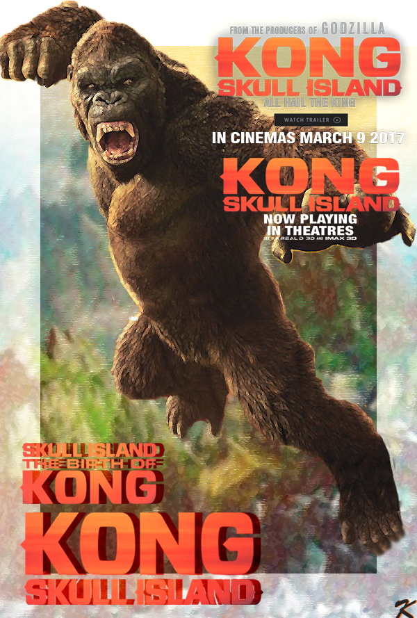 Poster Kong Skull Island 2017 Keenbeetal By Keenbeetalart On Deviantart