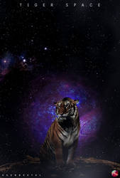 TIGER Space by KeenbeetalART