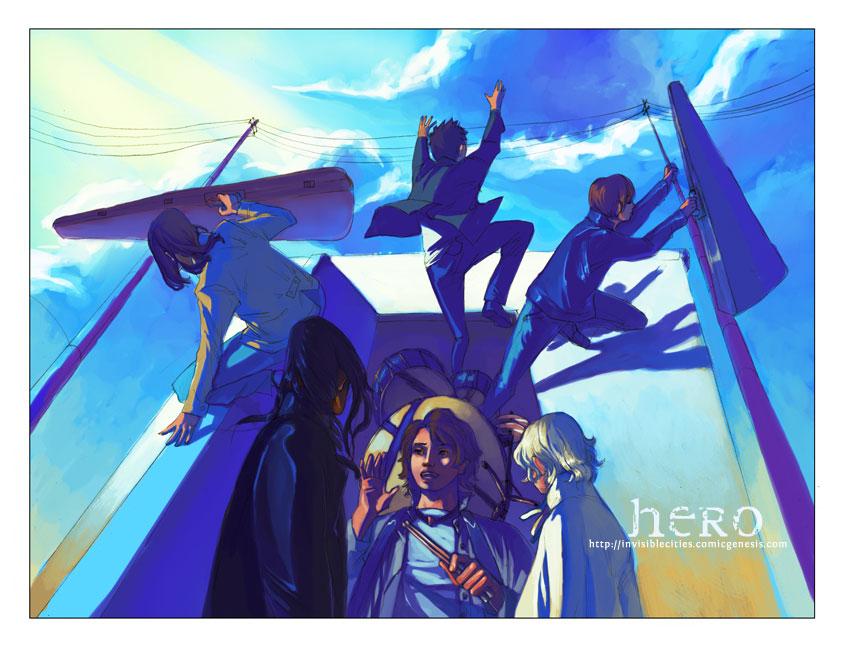 hero 171: door by hhhwei