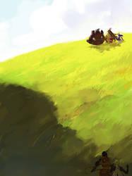 a gentle breeze by hhhwei