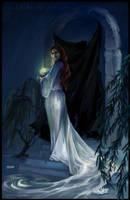 HP Tarot - 2. High Priestess by Nendil