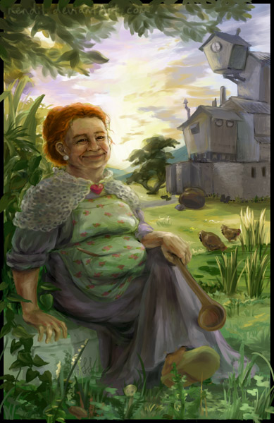 HP Tarot - 3. The Empress by Nendil