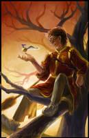 HP Tarot - 4. The Emperor by Nendil