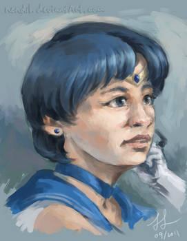 Portrait - Sailor Mercury