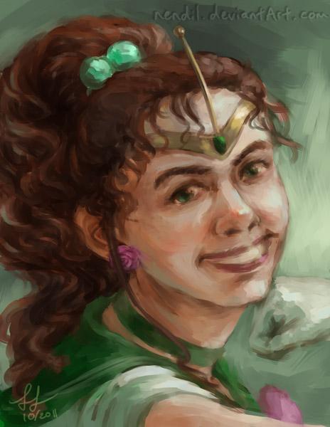 Portrait - Sailor Jupiter by Nendil