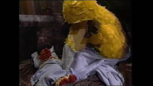 Ernie and Big Bird sleeping #2
