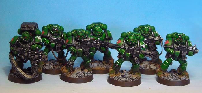 Dark Angels Tactical Squad 2 by JoaoDavid