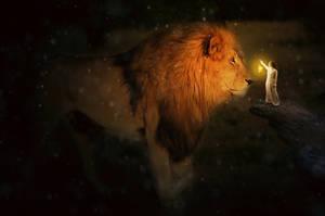 Lion by L0RDCX