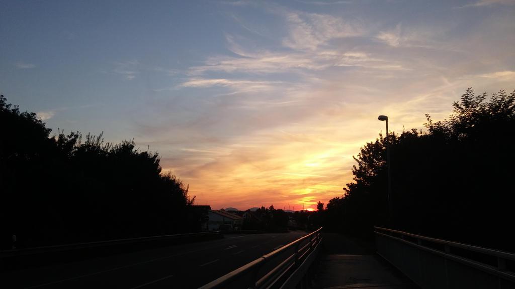 sunset on the bridge by sasiforever2000