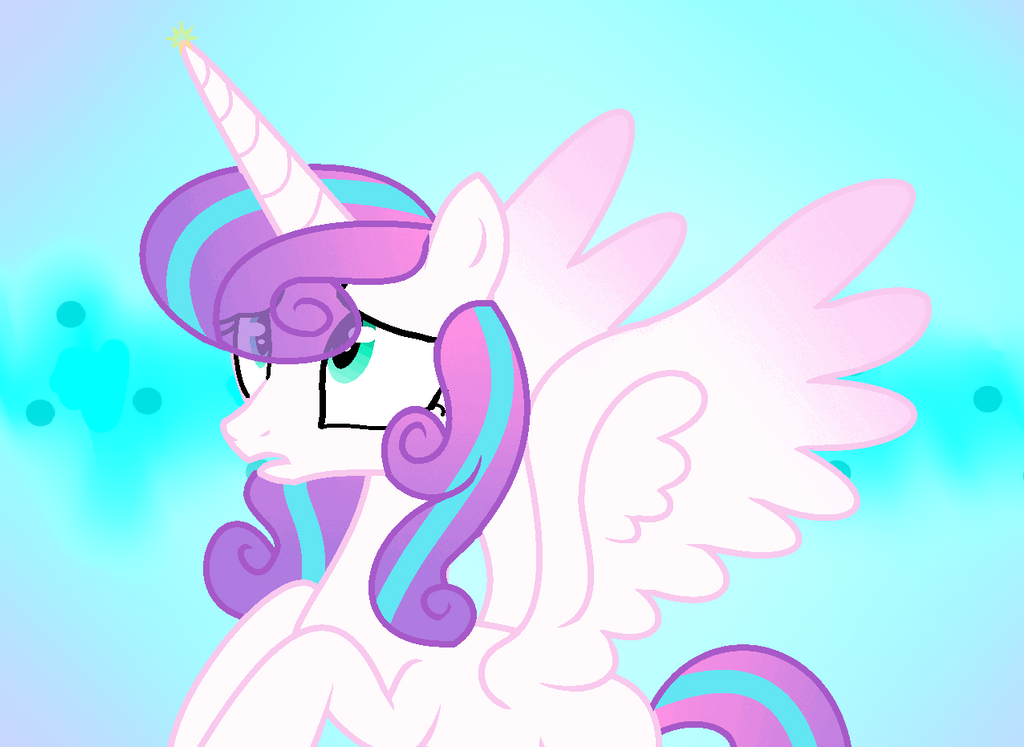 MLP:FIM  -  Flurry Heart by anuadhi