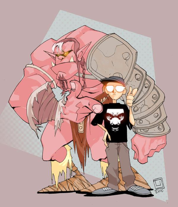 Un Orco y yo by xflint