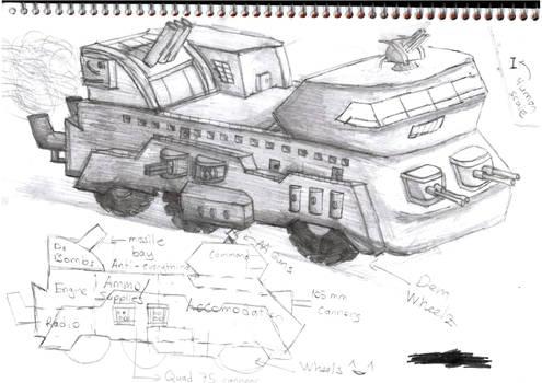 Trummerwagen Ausf A