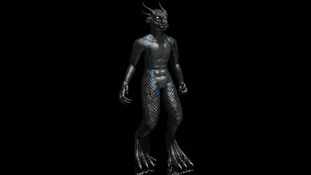 Radon the Dragon[3D model]