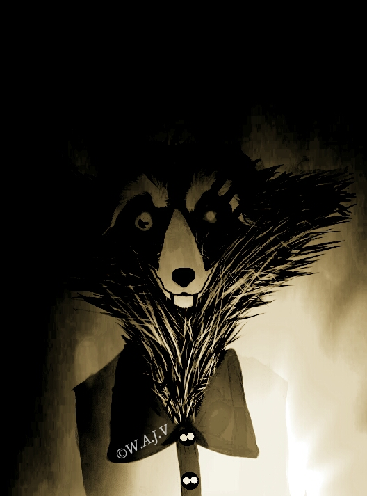 Logan in the Shadows by Giorou