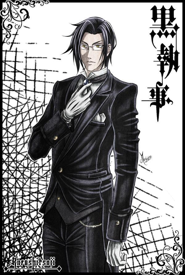 Claude Faustus : Kuroshitsuji by Meizze
