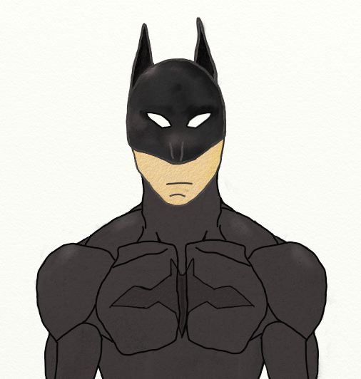 My version of the Batman by Asijan