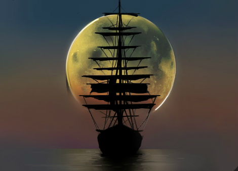 The Arrival of Peter Pan by artistaHerby