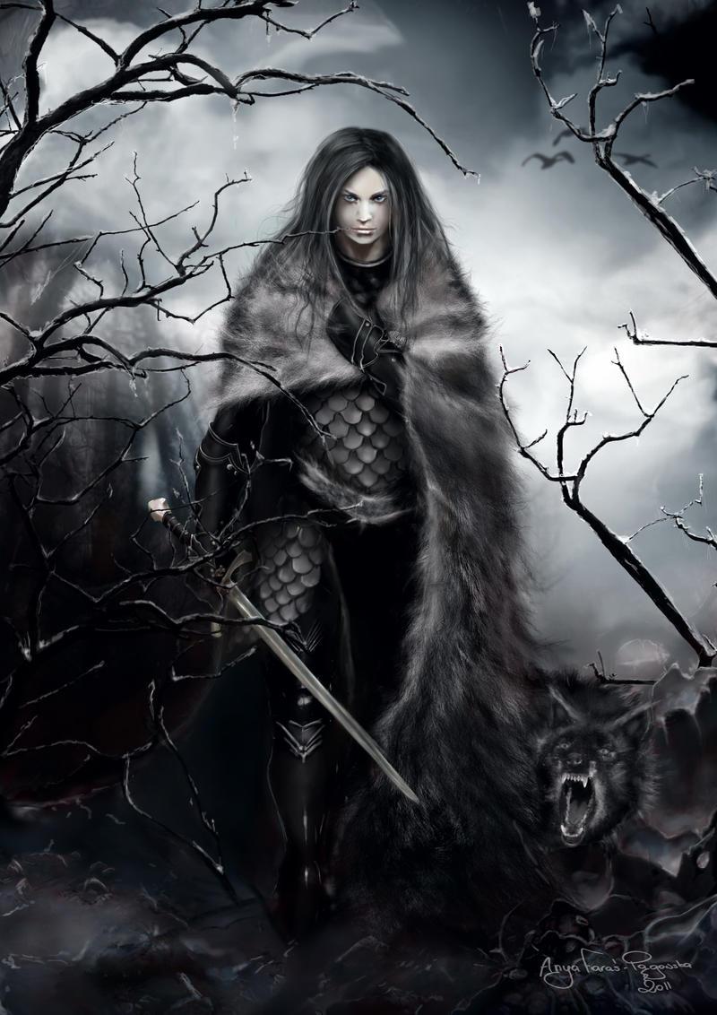 Wolf Girl by tyiga on DeviantArt