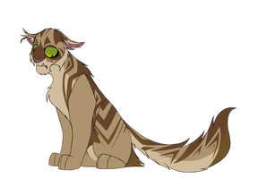 100 Warrior Cats Challenge - Crookedstar by TheDoodleFox