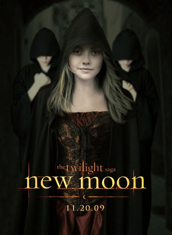 New Moon poster fanmade Jane by XxGoingBlindxX