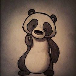 Panda by kathryneparrish