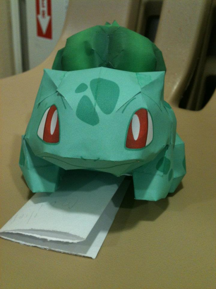 Bulbasaur Front View by Icethornstar