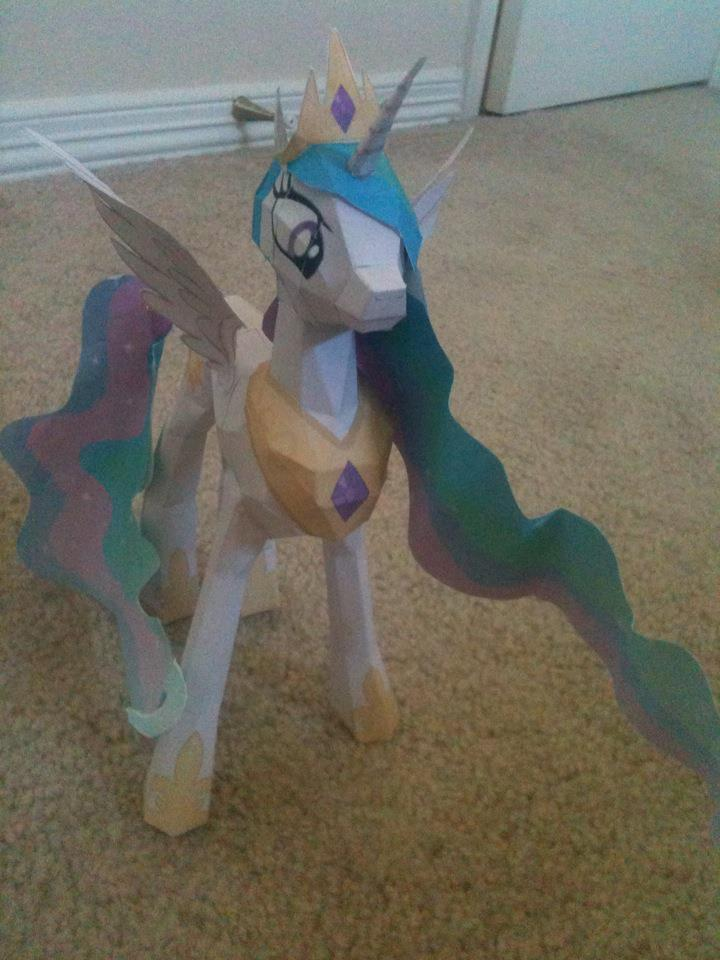 Celestia Papercraft- Front by Icethornstar