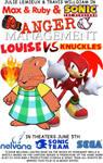 Anger Management Louise VS Knuckles Poster