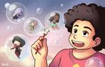 Steven and gems bubbles