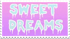 sweet dreams stamp by egraut